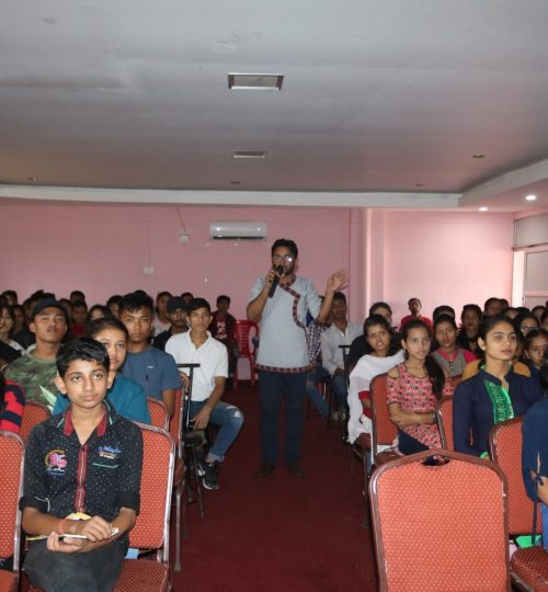 Session on Enjoy your Exams to Students of NEB and SEE , Kohalpur Banke